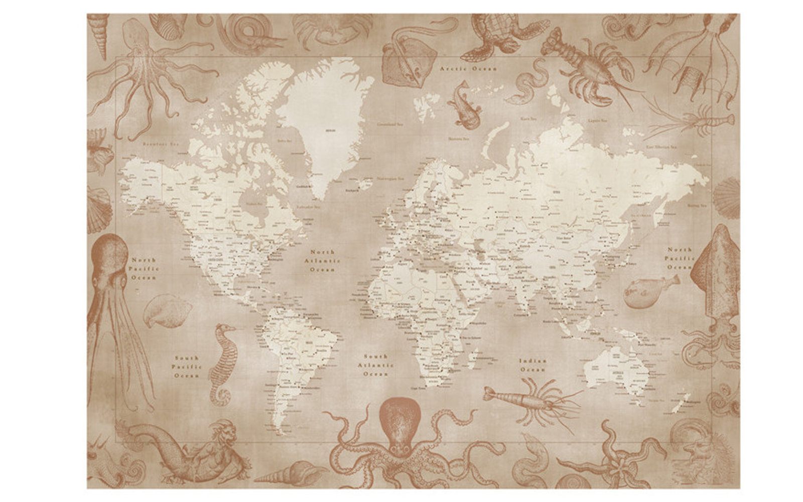 Best World Map Art