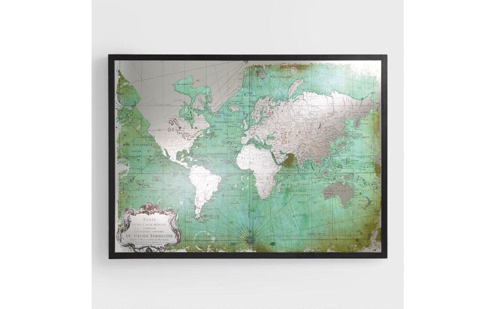 Nyc Subway Map Canvas Wall Art.Cool World Map Wall Art For Showing Off Your Wanderlust Travel