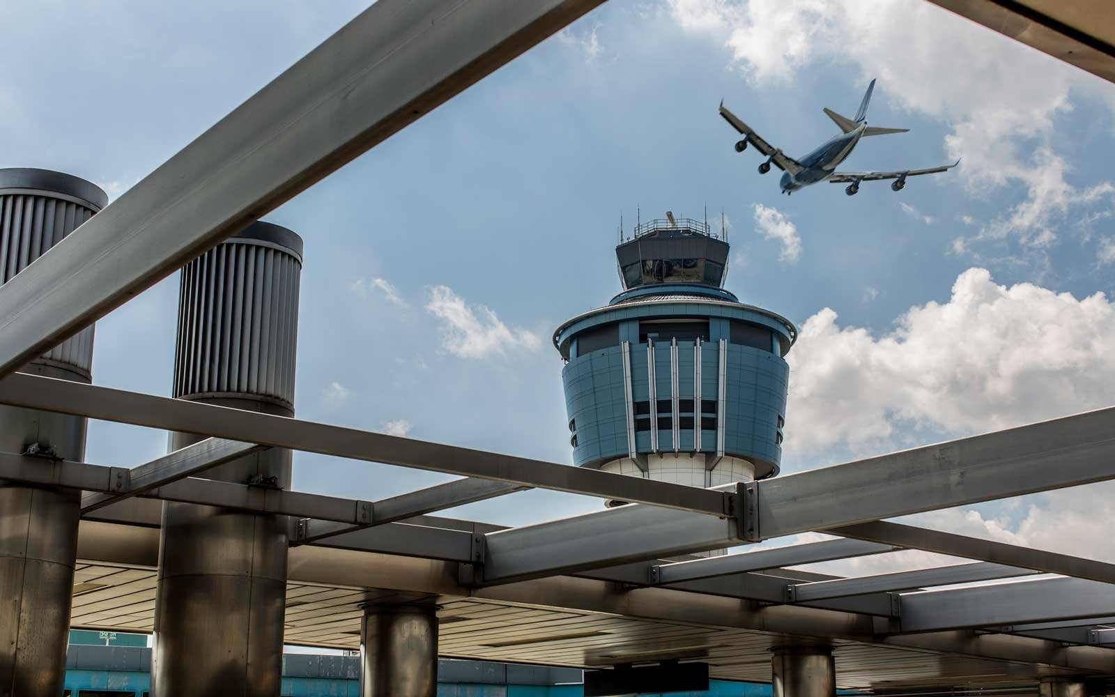 Laguardia Airport Air Traffic Control Tower, New York