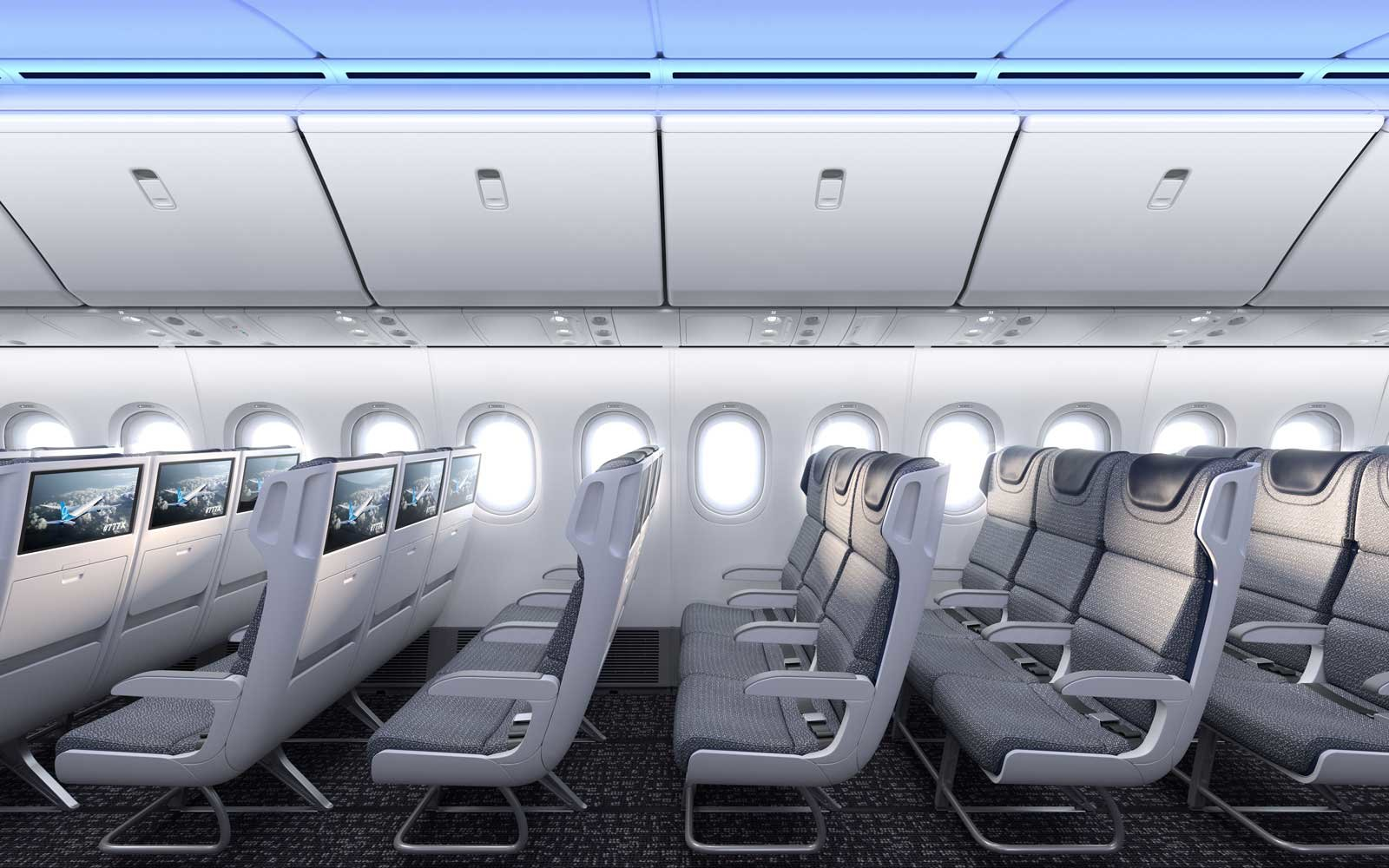 Boeing S New 777x Is The World Gest Twin Engine Jet Here What It Looks Like Inside Travel Leisure