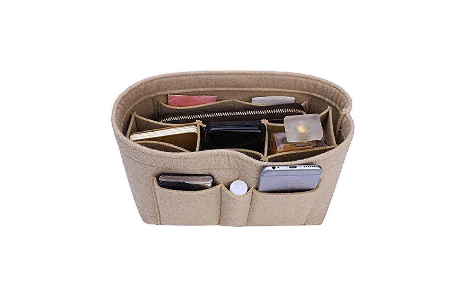 60b595f7b043 The Best Handbag Organizer Inserts, According to Reviews | Travel + ...