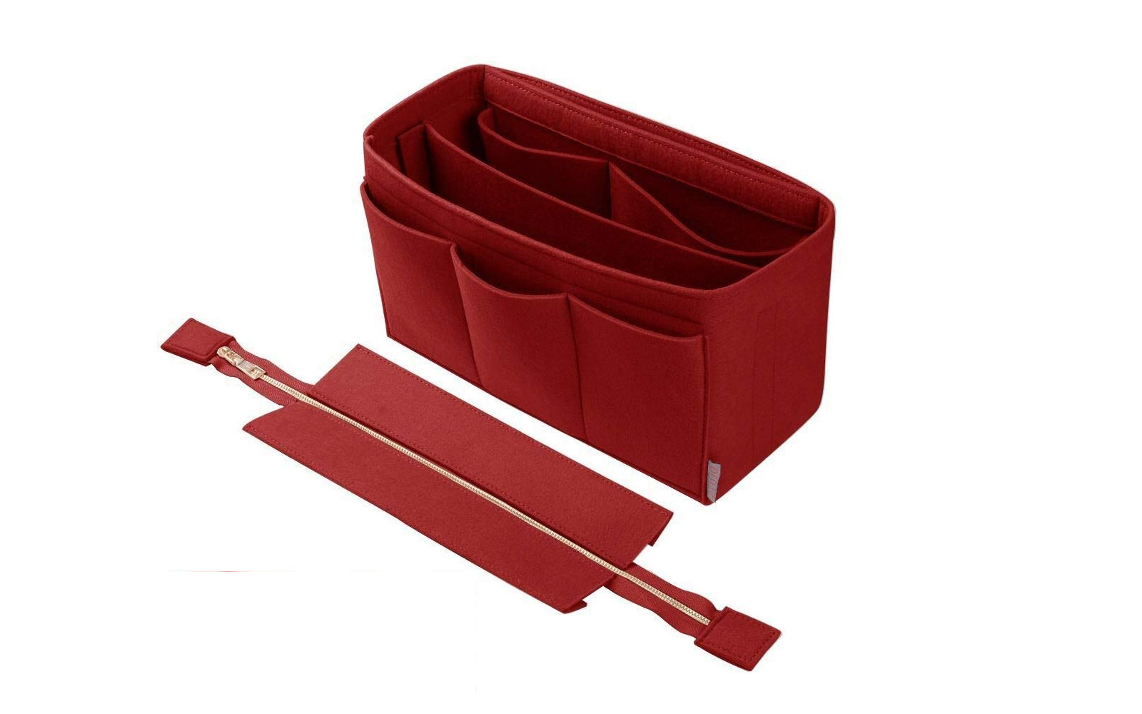 Ztujo Purse Organizer Insert With Detachable Zipper Cover