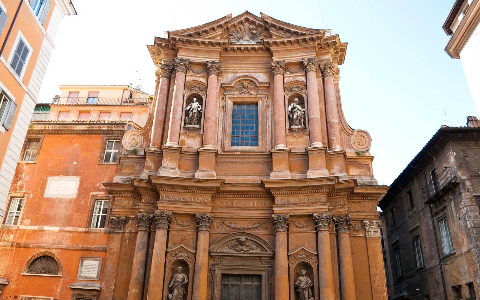 Church of the Most Holy Trinity of Pilgrims - Trinita dei Pellegrini, in the Regola rione, Rome, Italy