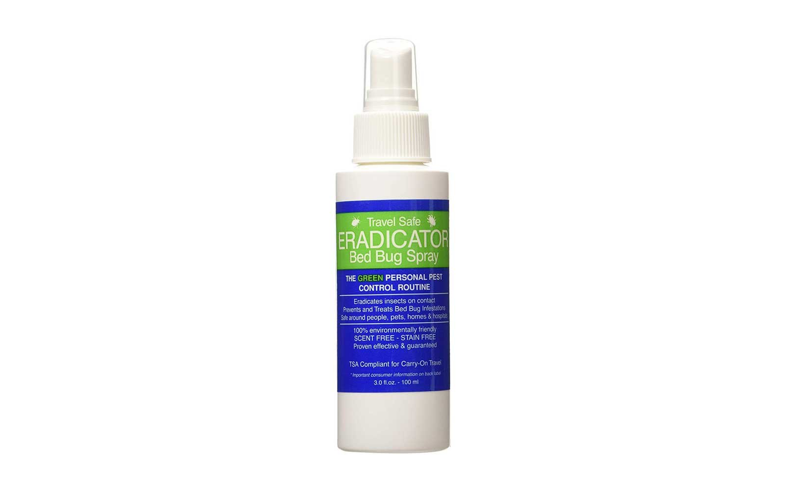 eradicator best bed bug spray