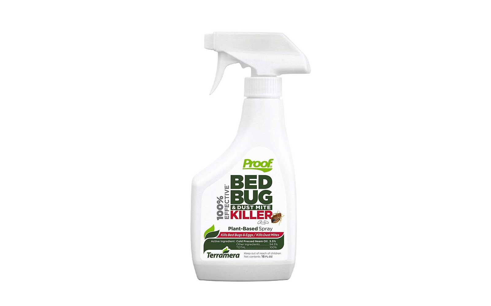 best bed bug spray proof