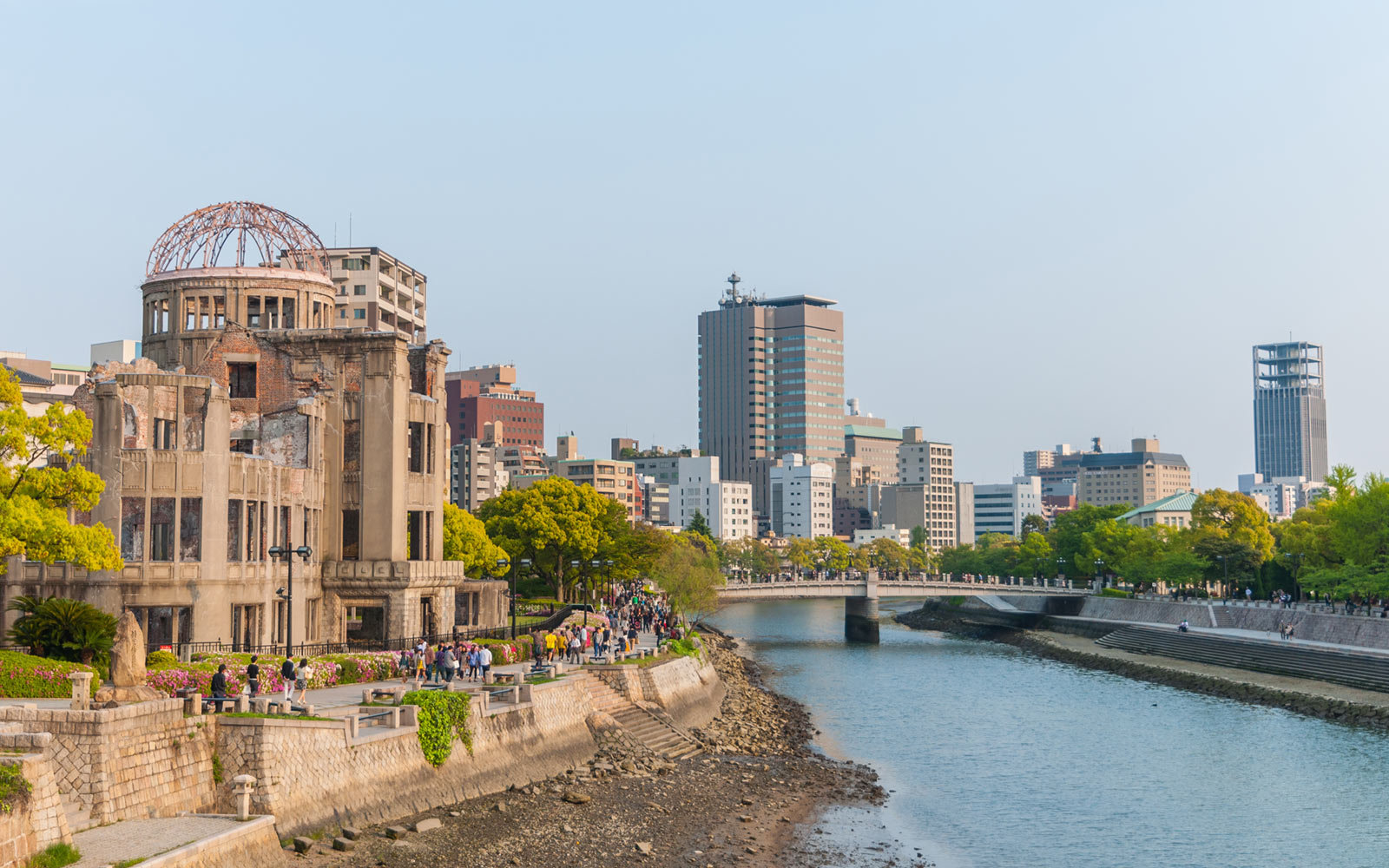 Atomic Bomb Memorial Dome, Hiroshima, Japan, Le Laperouse, Ponant