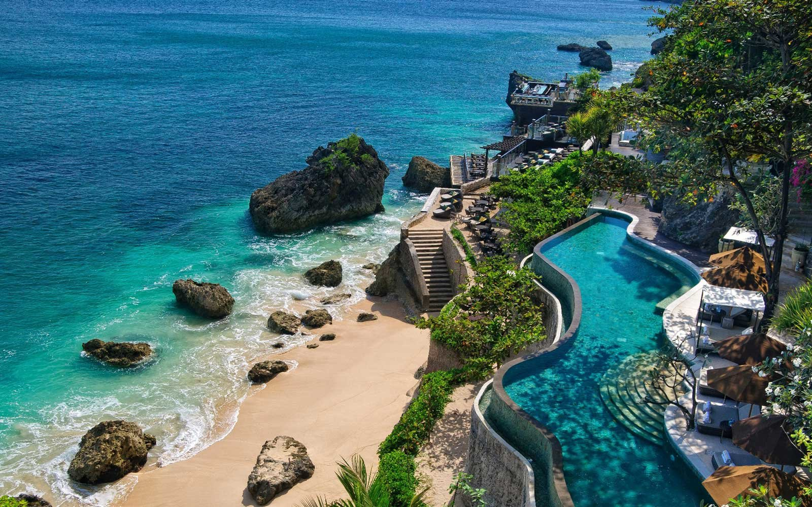 View of the Ayana Resort in Bali