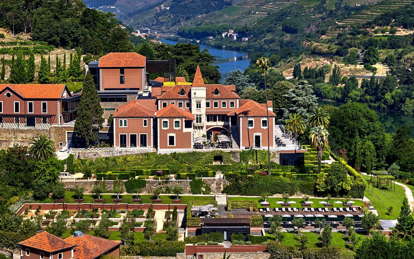 Overview of the Six Senses Douro Valley, in Portugal