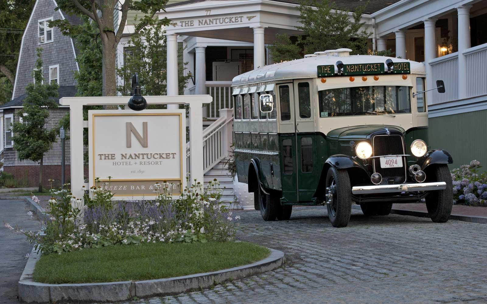 Entrance of the Nantucket Hotel