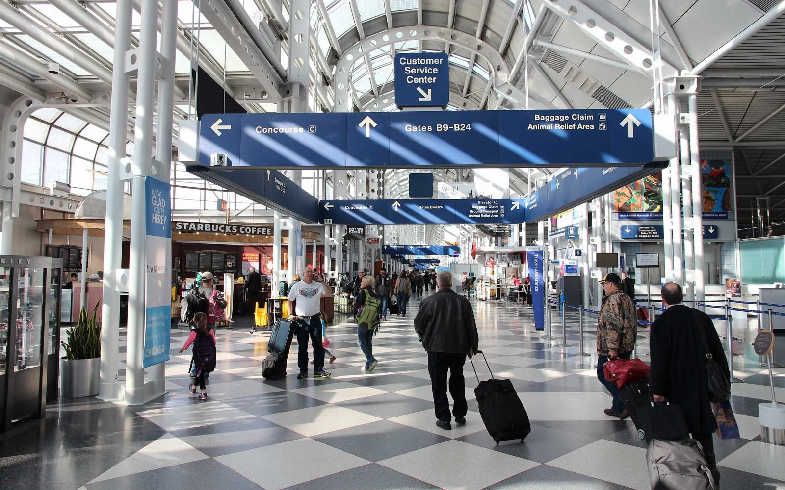 Chicago's O'Hare International Airport is now the country's busiest.