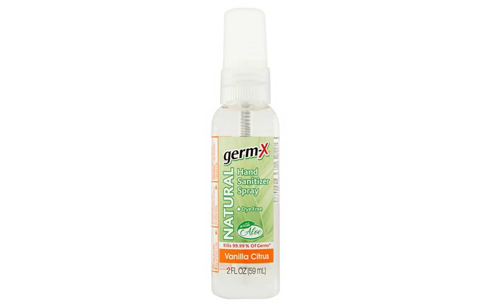 Germ-X Natural Vanilla Citrus Hand Sanitizer Spray