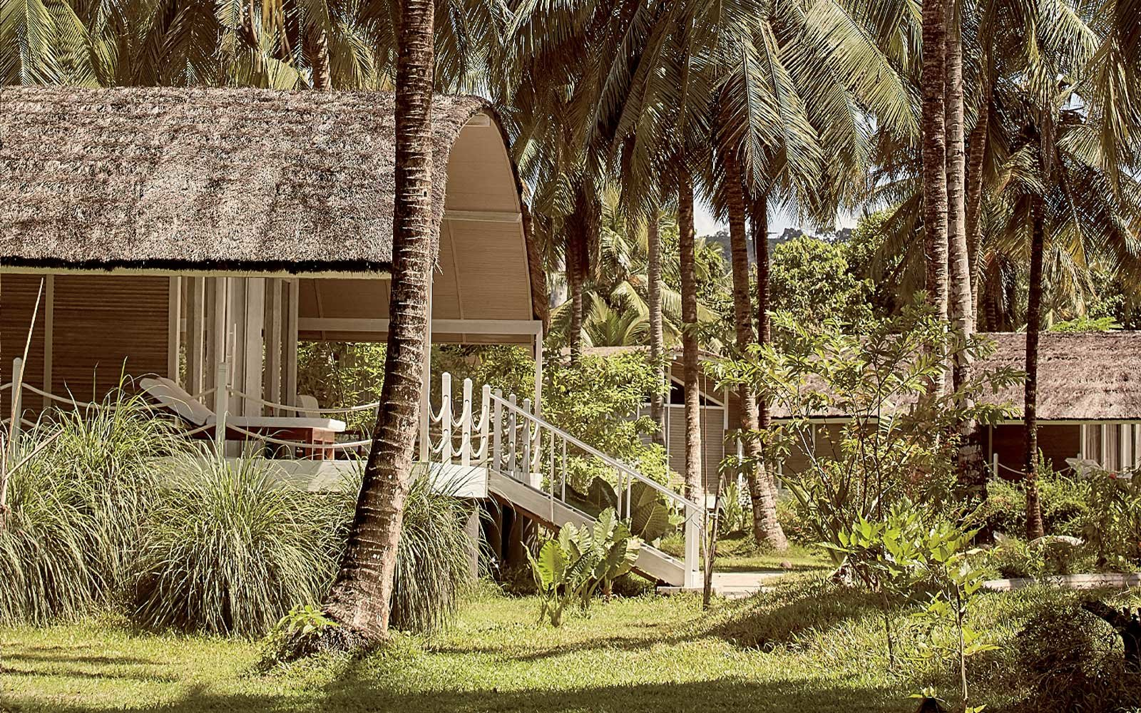 Villa at the Taj Exotica Andaman Islands resort, in India