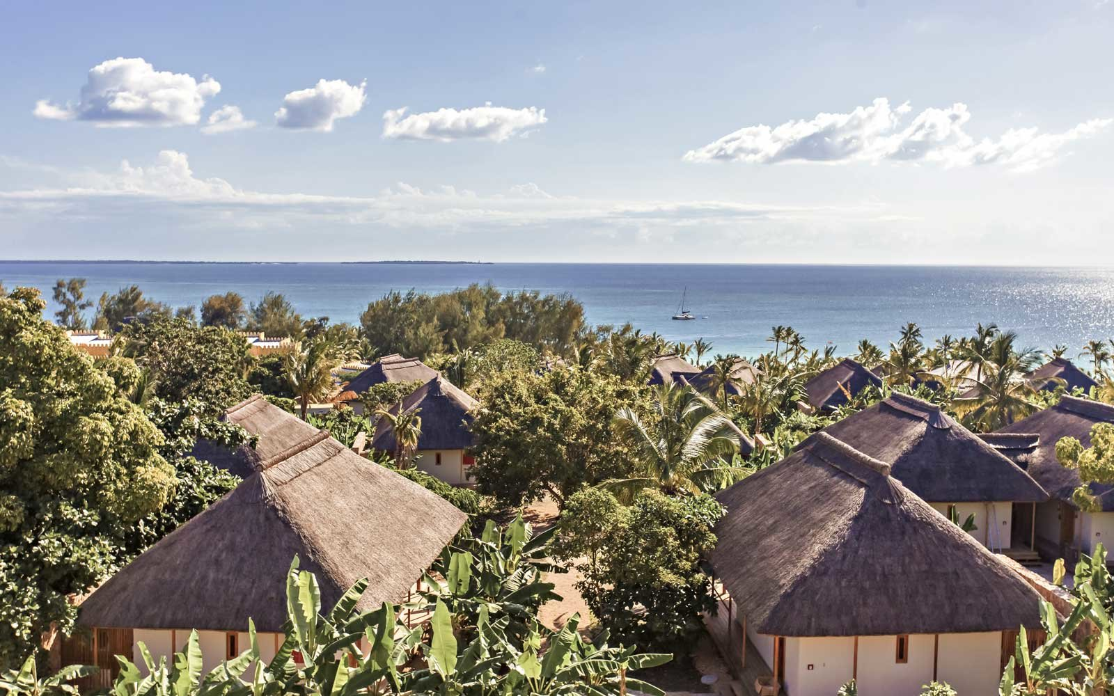 Overview of the Zuri Zanzibar Resort in Tanzania