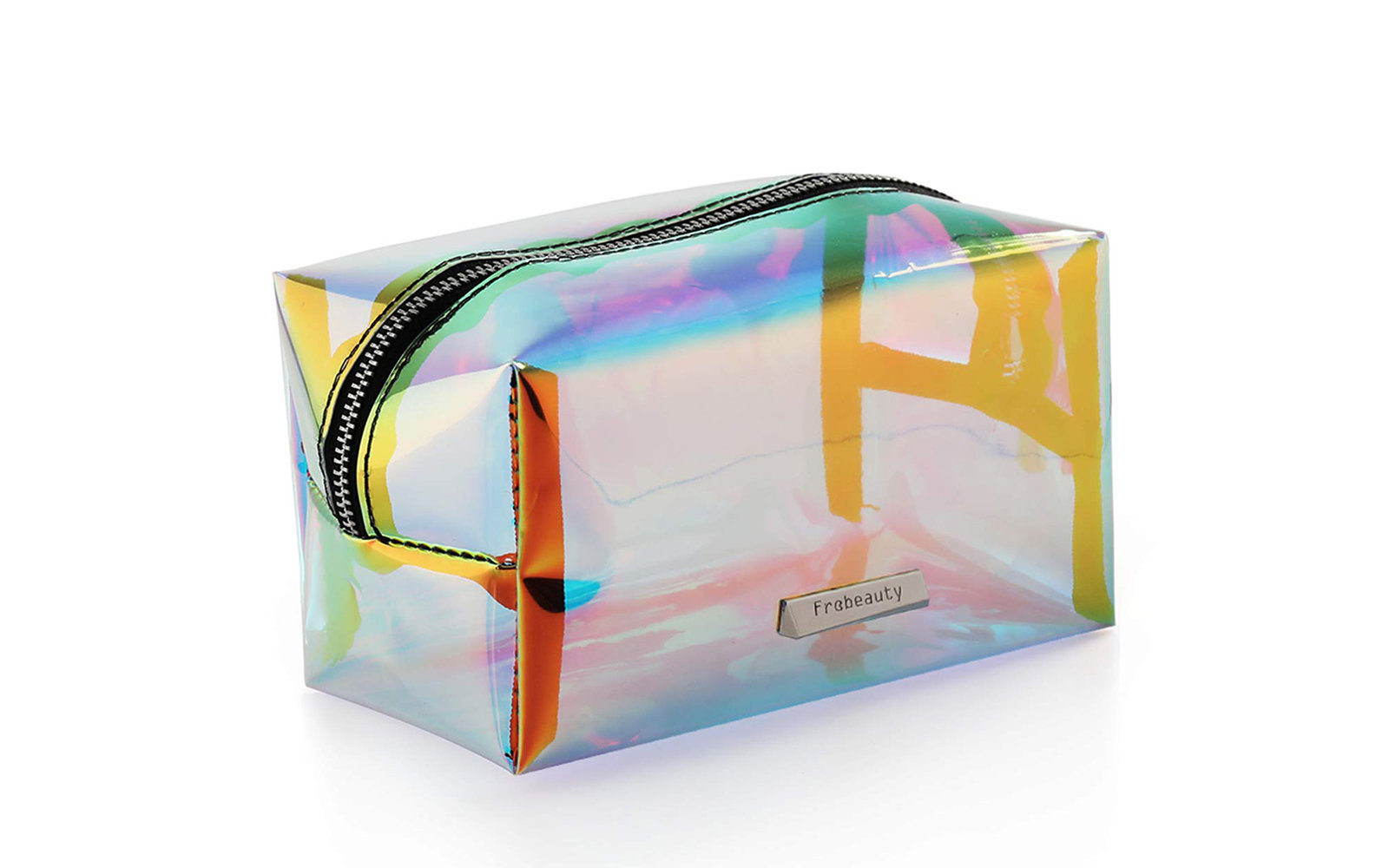 Frebeauty Holographic Iridescent Toiletries Pouch