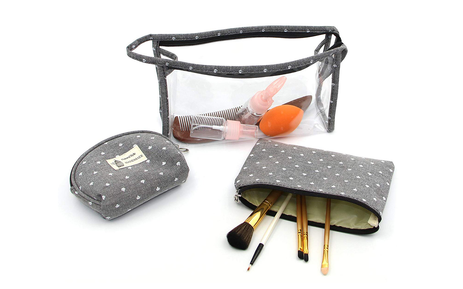 9fa5dc87d595 The Best Clear Travel Makeup Bags & Cosmetics Cases | Travel + Leisure