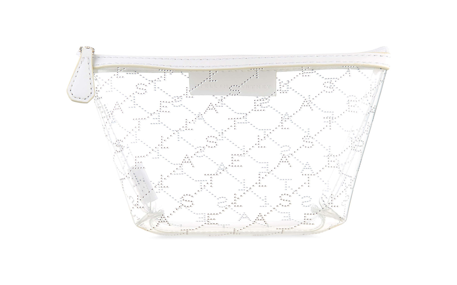 Stella McCartney Clear Logo Pouch