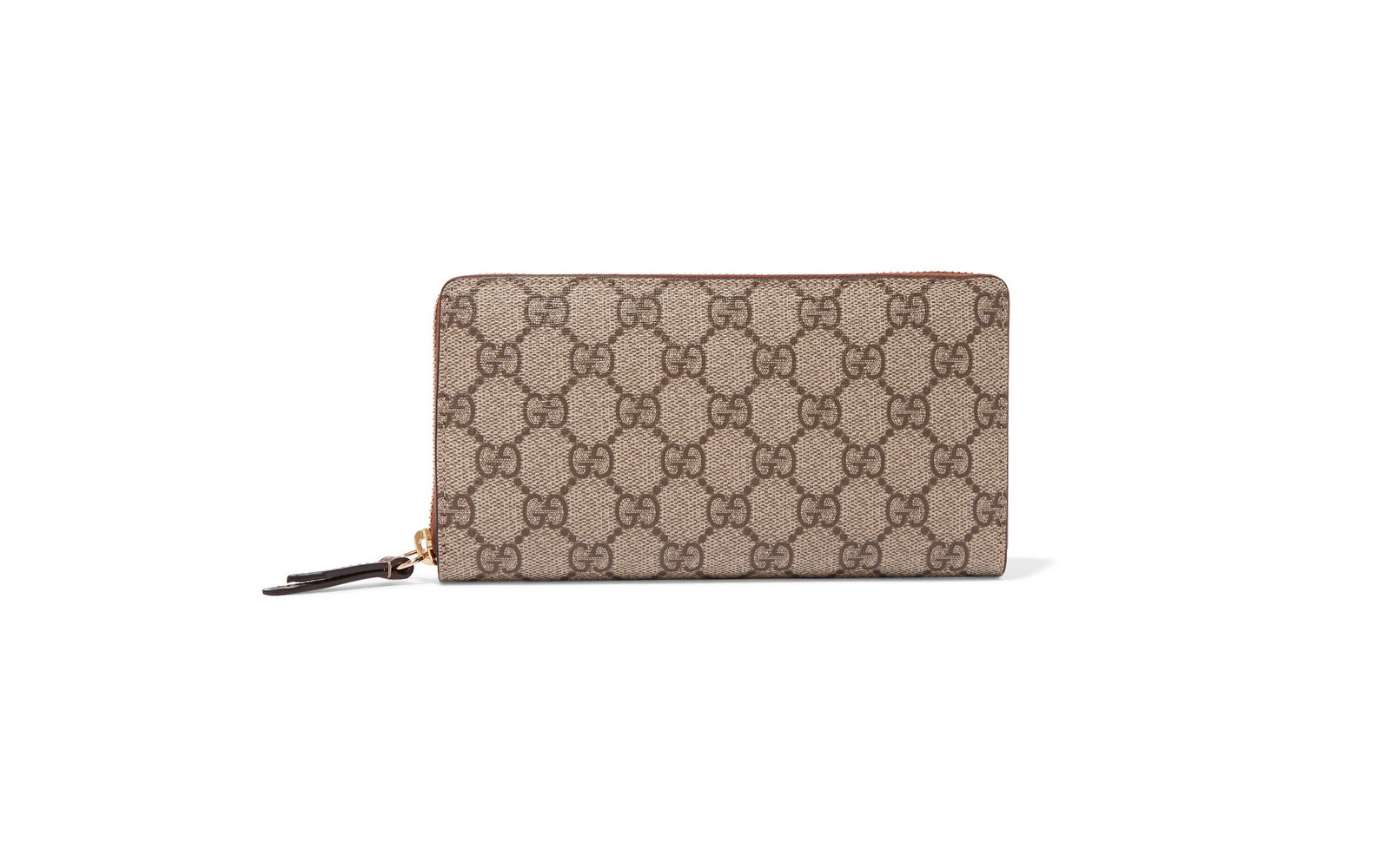 Gucci, Coated Canvas Continental Wallet