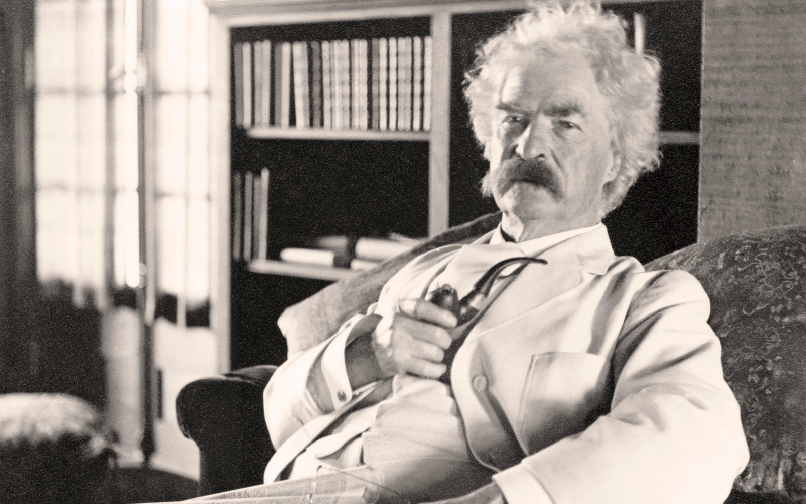 Portrait of Mark Twain