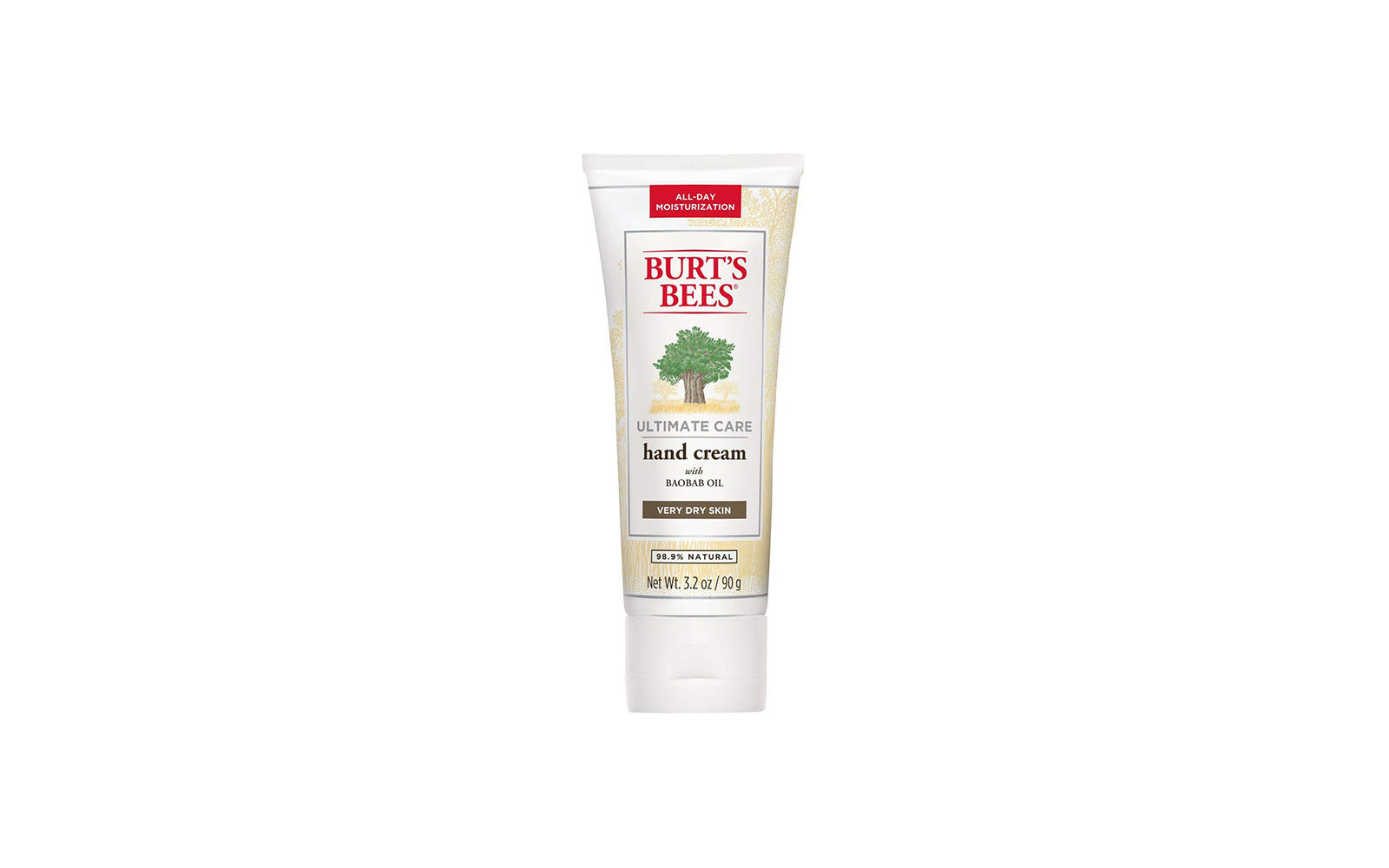 Best Natural Pick: Burt's Bees Ultimate Care Hand Cream
