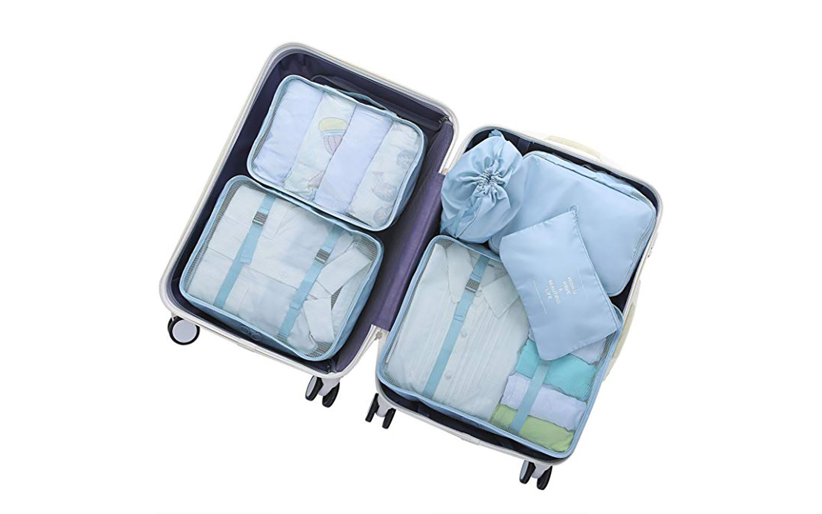 OEE Six Piece Packing Cubes