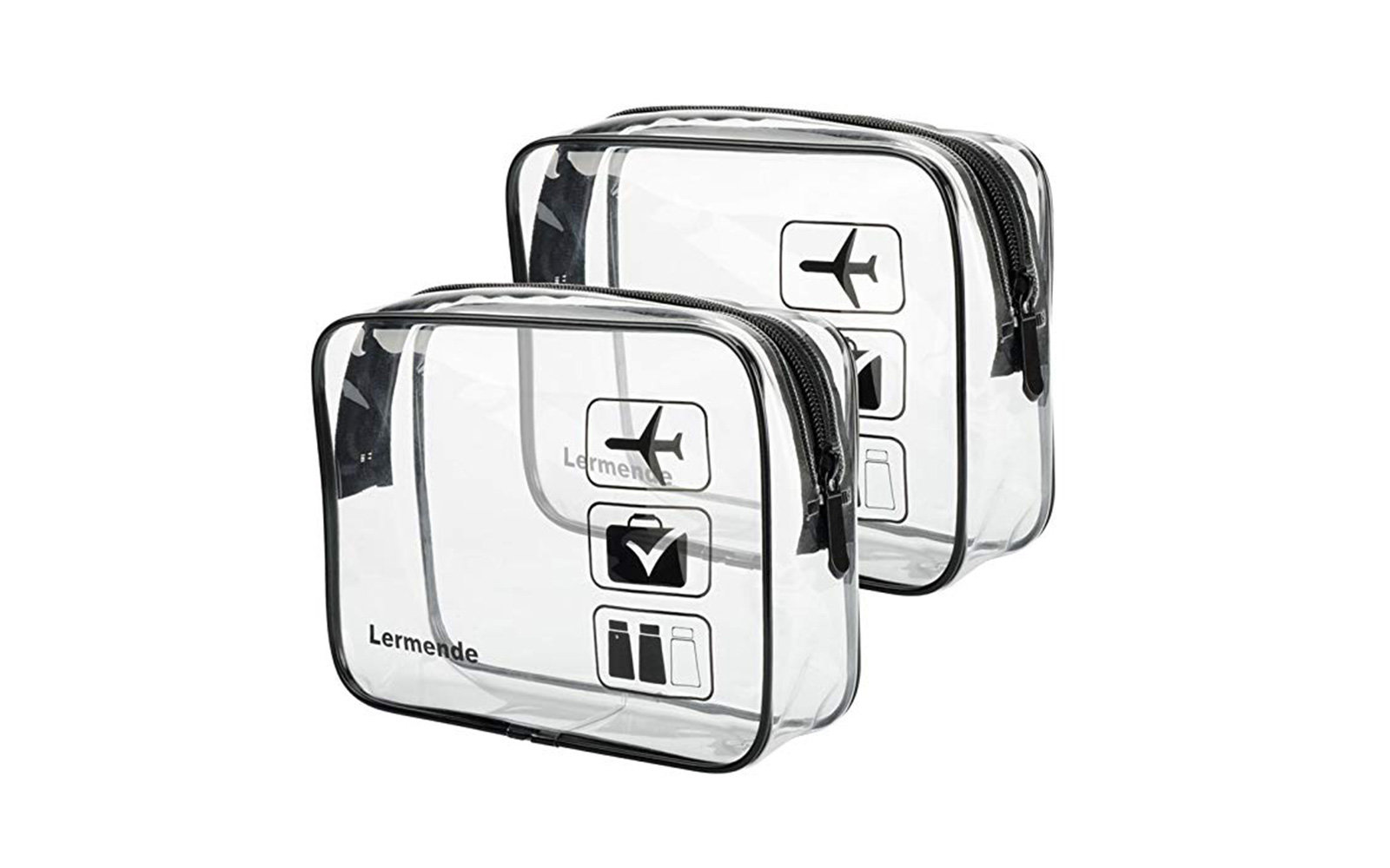 Best Clear Toiletry Bag: Lermende TSA Approved Clear Toiletry Bag