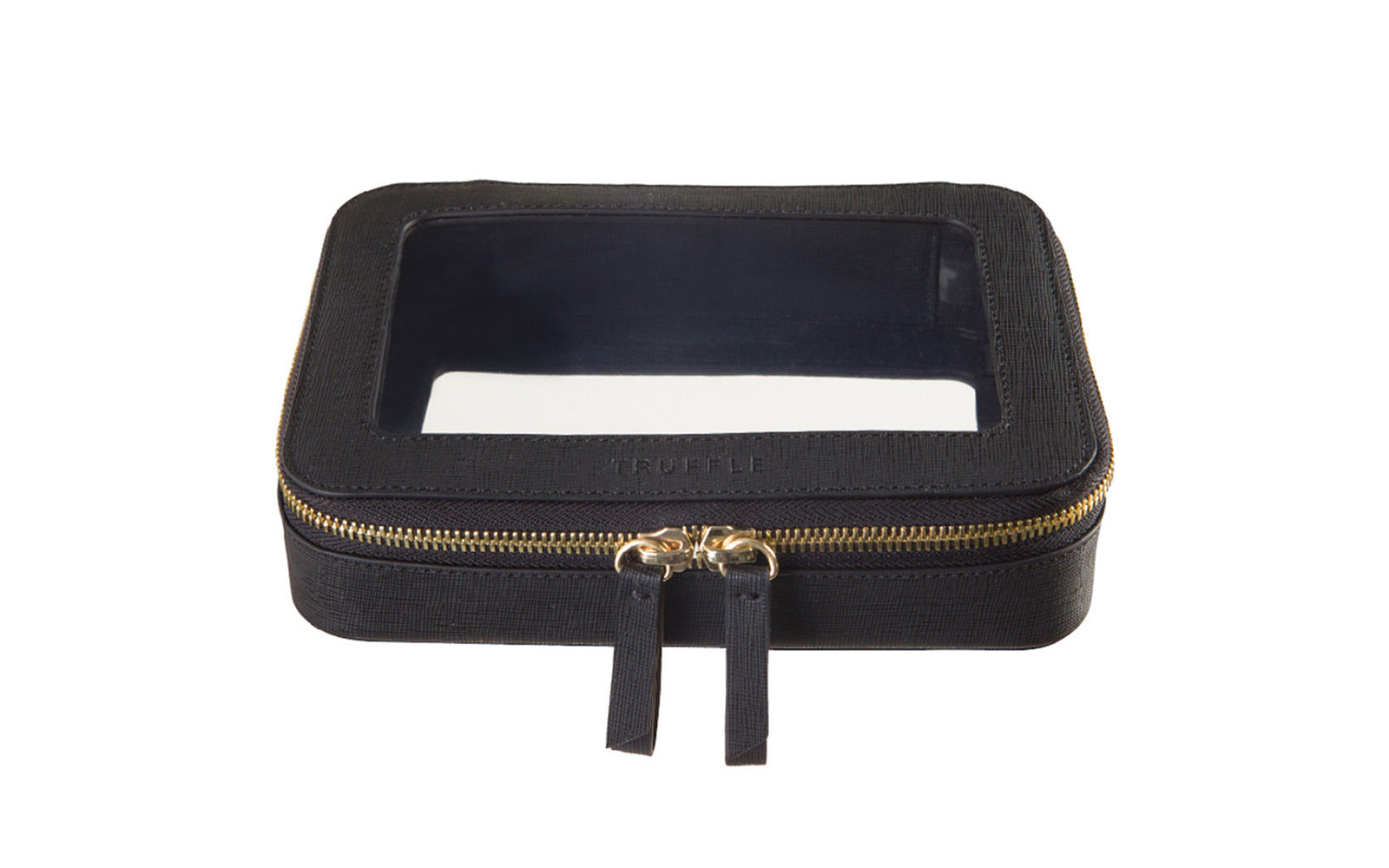 Best Leather Toiletry Bag: Truffle Clarity Jetset Case