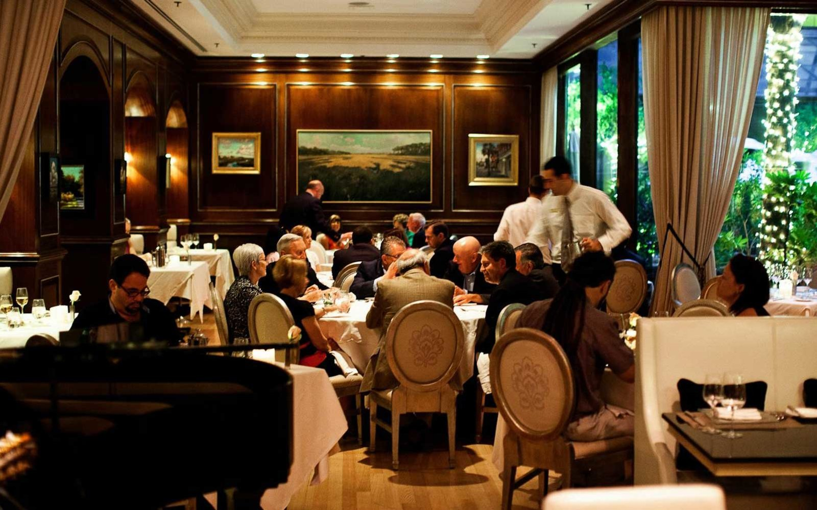Charleston Grill, The Most Romantic Restaurant in the U.S.