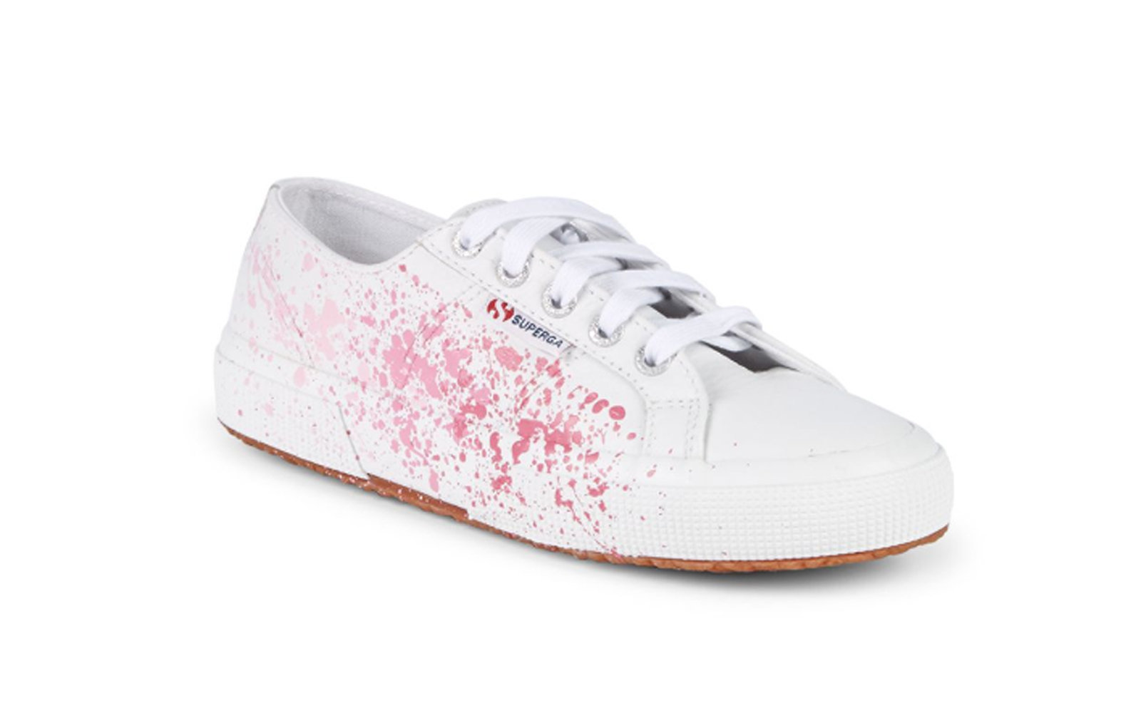 Superga Splatter Leather Sneakers