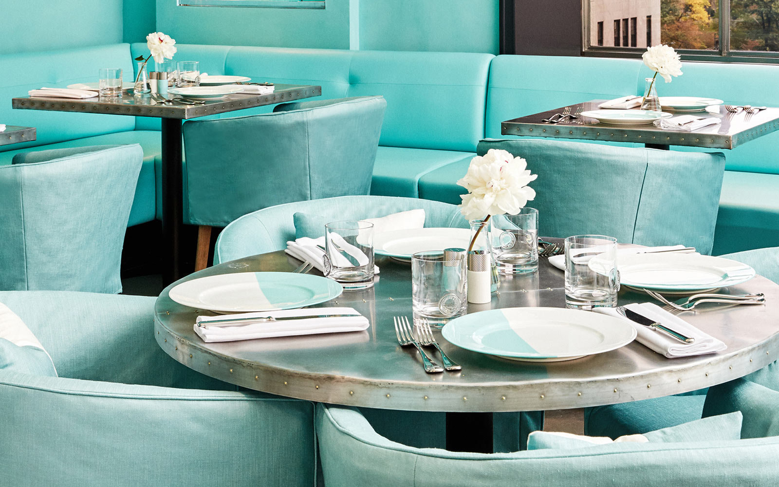 Have  Breakfast at Tiffany's  at the Blue Box Cafe