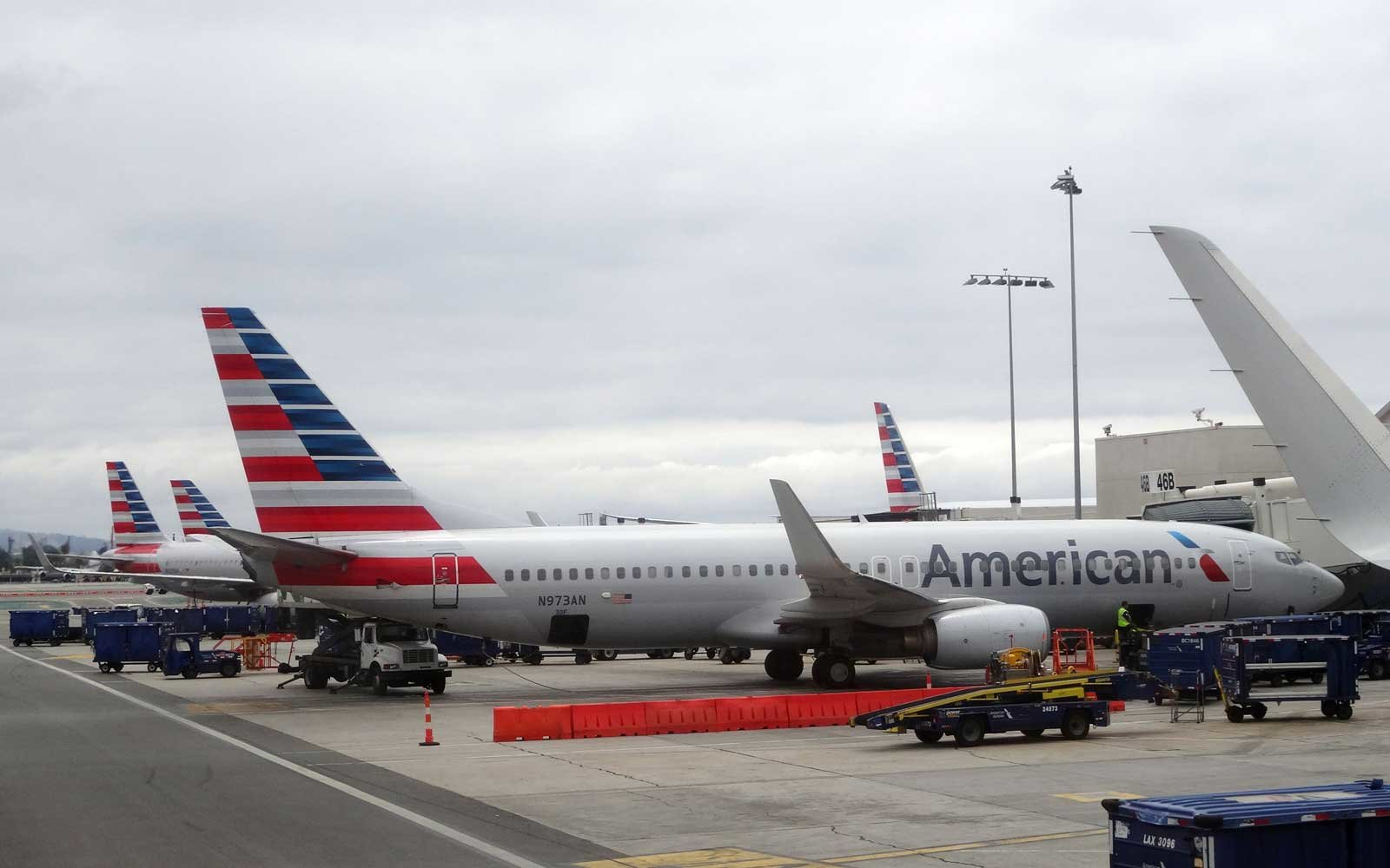 American Airlines is partnering with Blade to offer helicopter transfers to the airport.