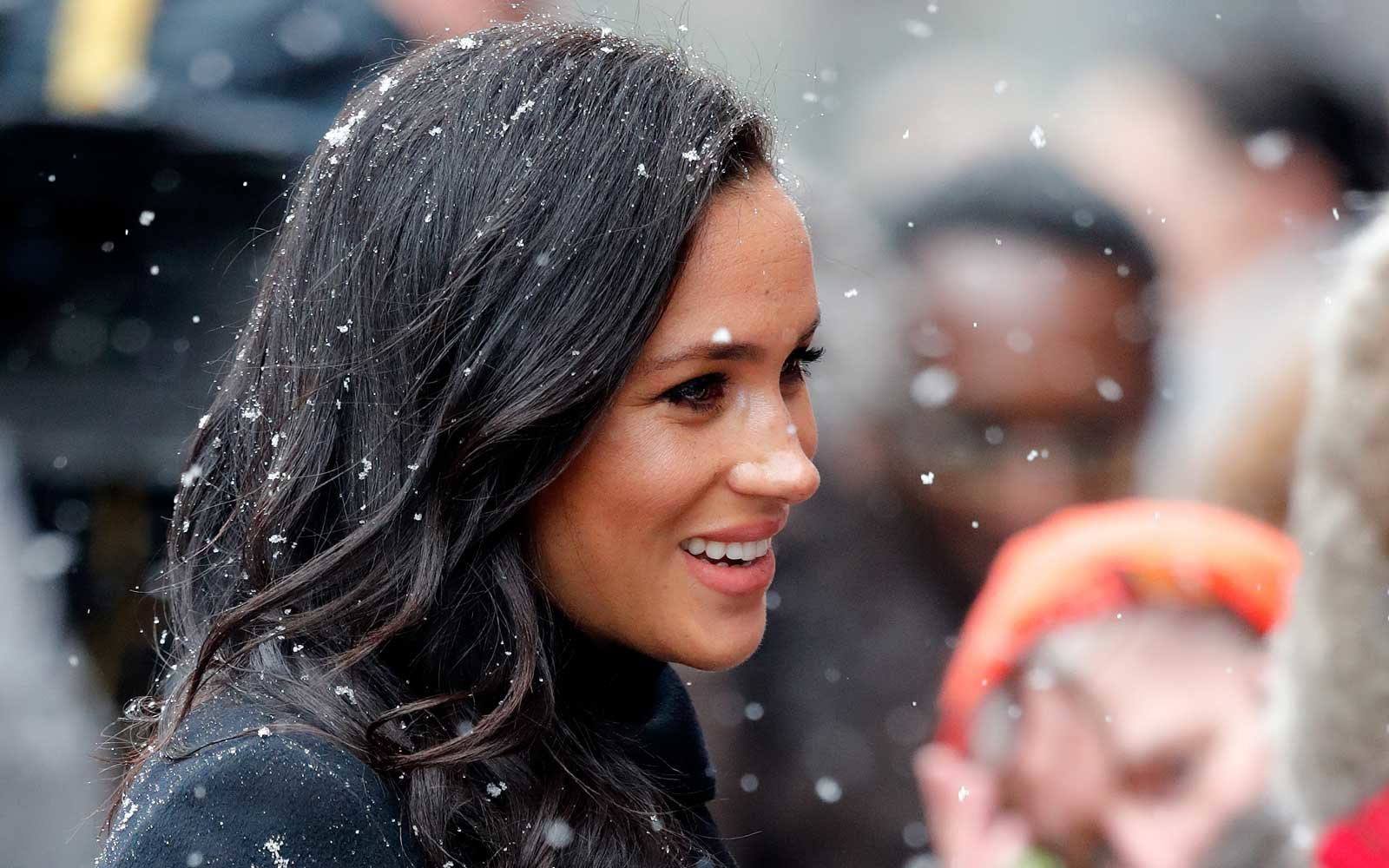 Meghan Markle's luxurious travel bag has a secret tribute to Prince Harry