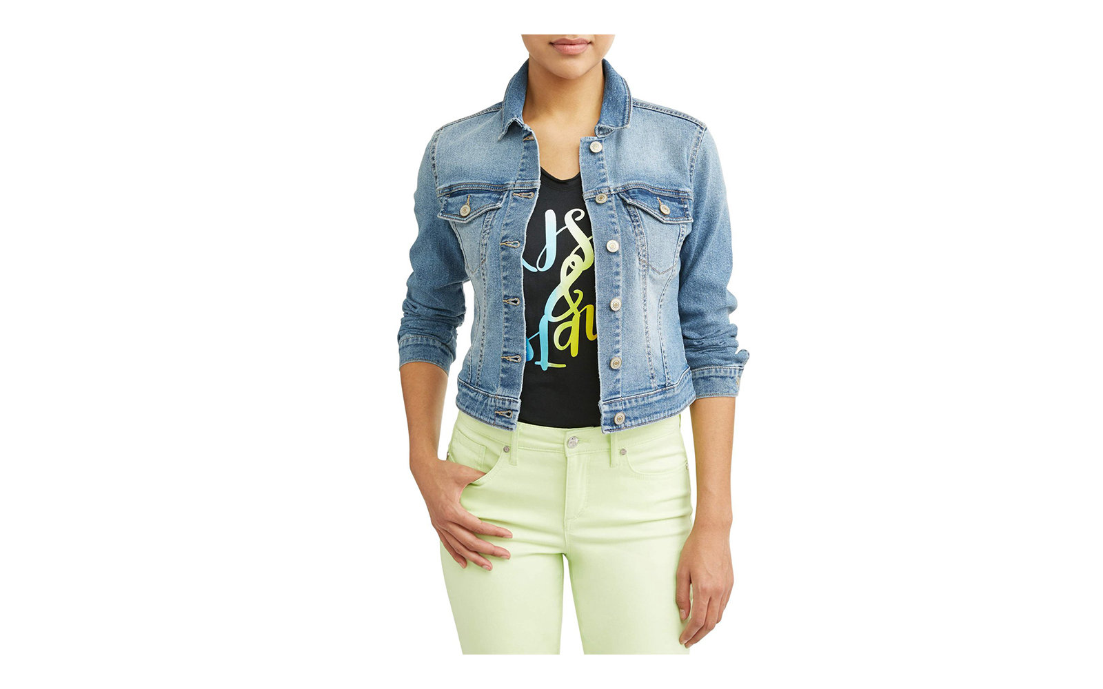 Sofia Jeans by Sofia Vergara Marianella Denim Jacket