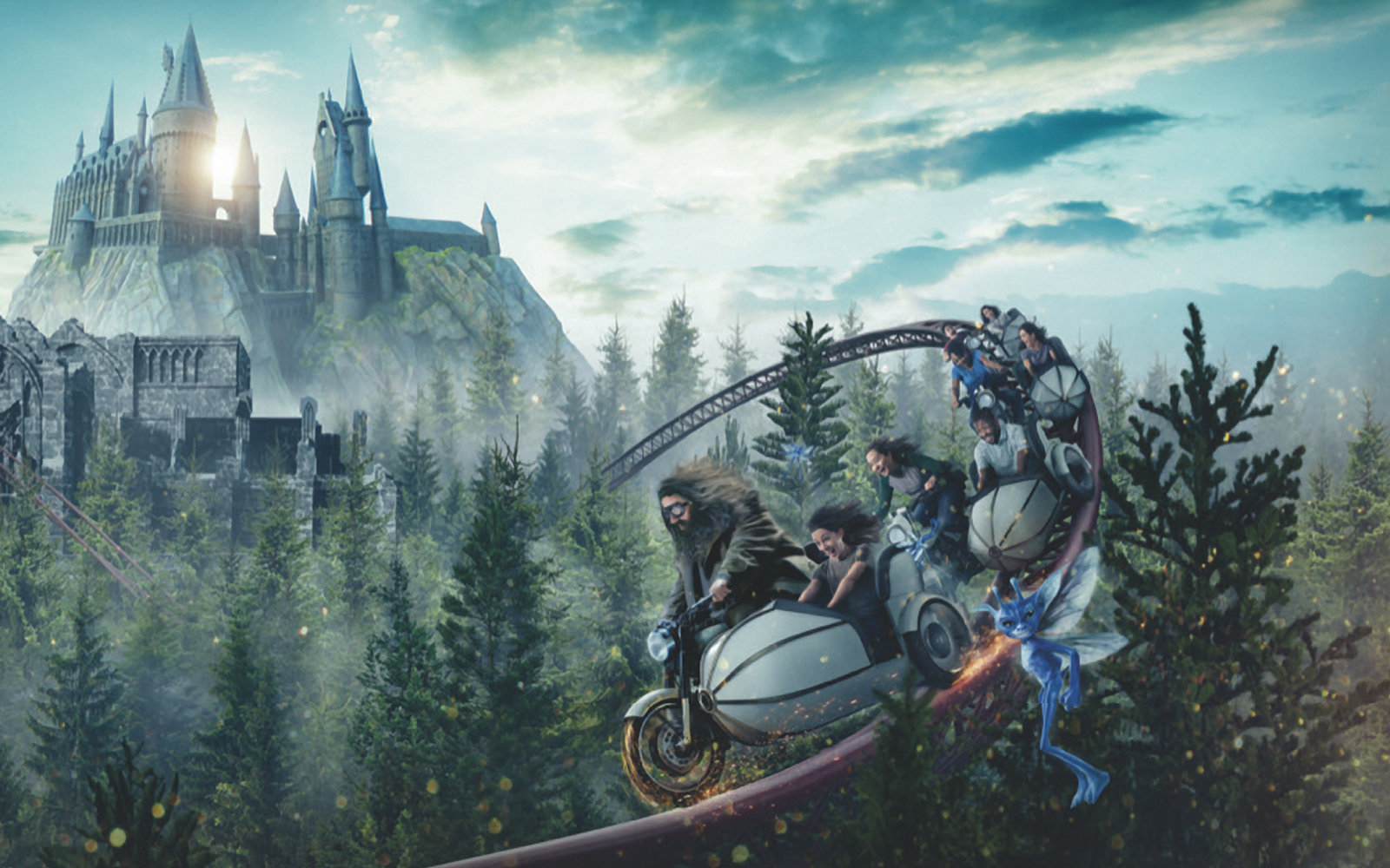 New Harry Potter roller coaster to open at Universal Orlando