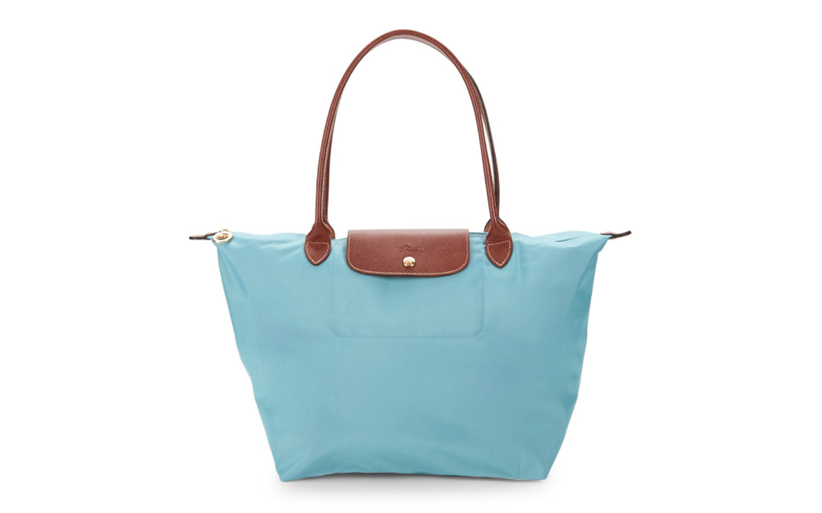 Longchamp Large Le Pliage Tote in Arctic