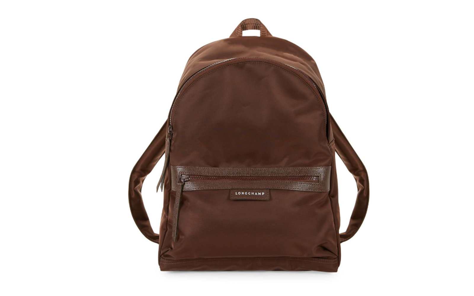 Longchamp Medium Le Pliage Neo Backpack in Chocolate