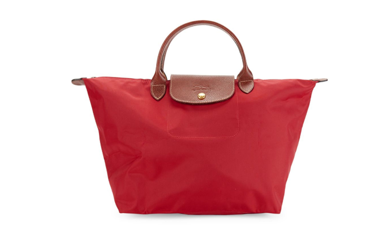 Longchamp Le Pliage Tote Bag in Red