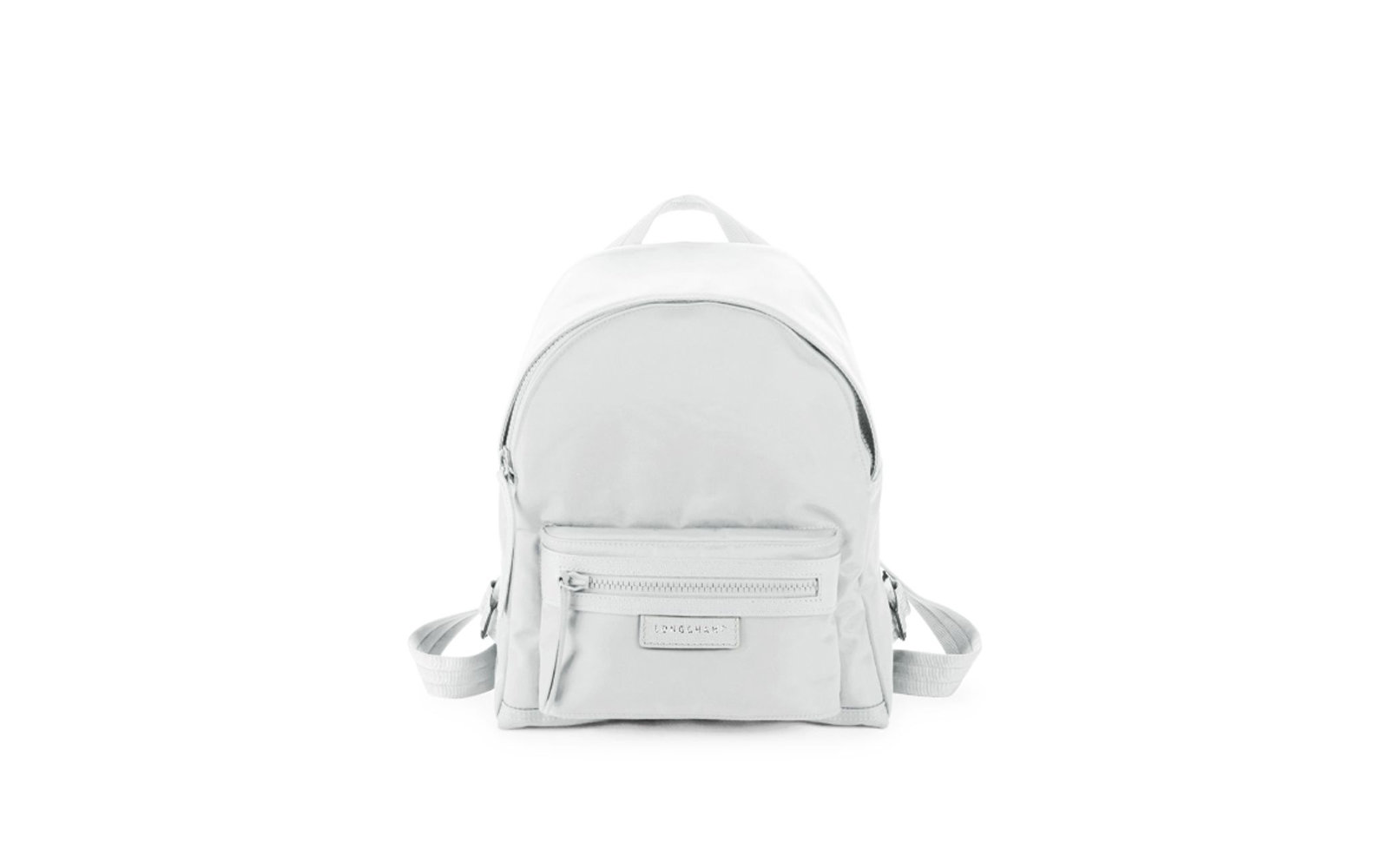 Longchamp Small Le Pliage Neo Backpack in White