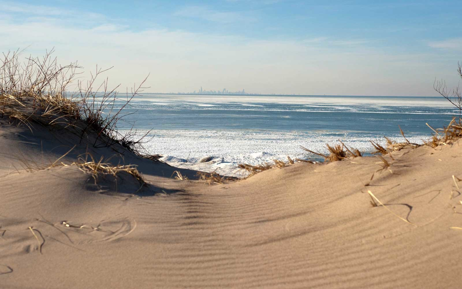 Winter at the Indiana Dunes National Lakeshore