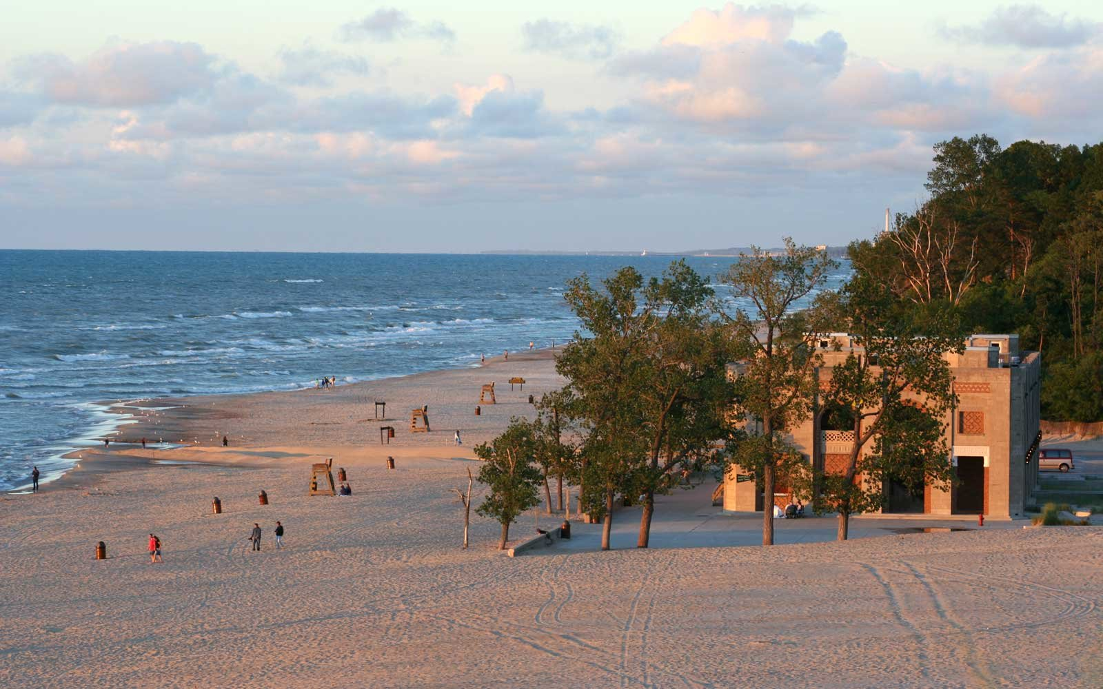 Lake Michigan and Indiana Shores National Park