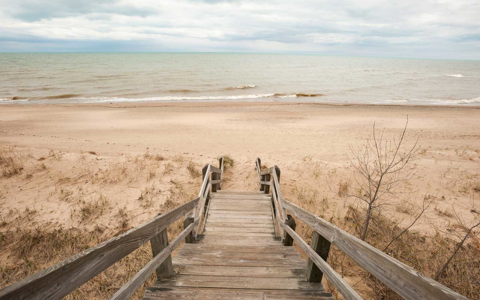 Boardwalk at the Indiana Dunes National Lakeshore