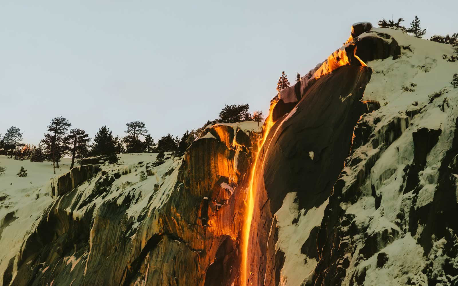 Firefall at Yosemite 2019