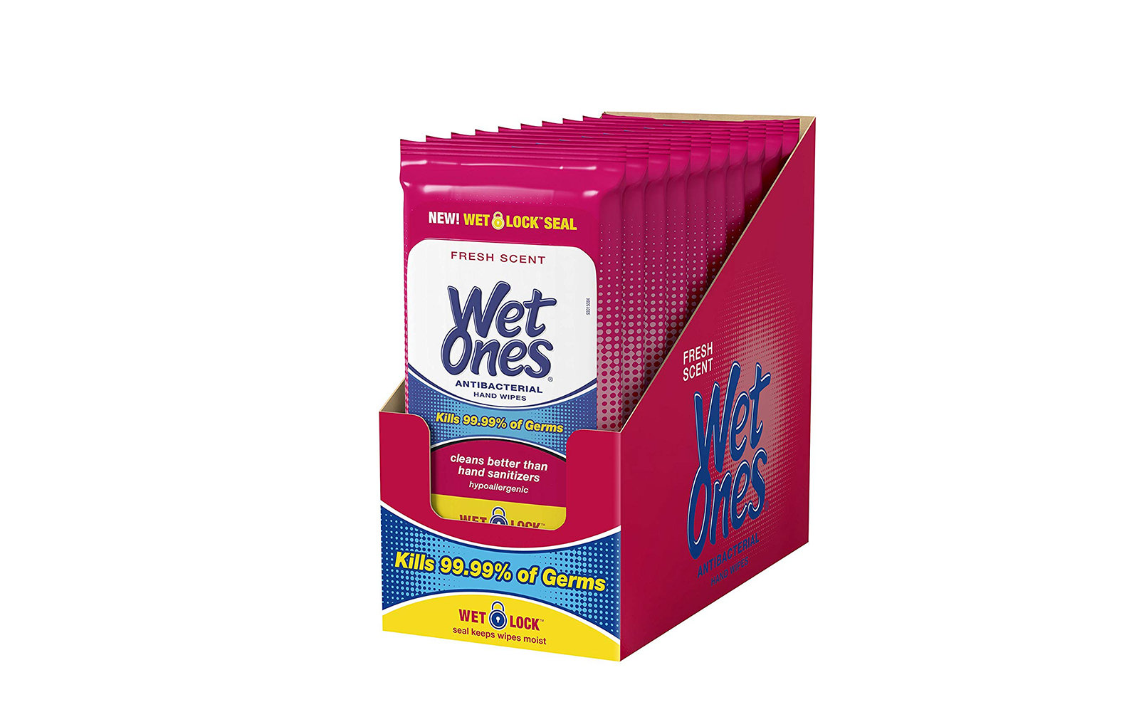 Wet Ones Wipes Packets