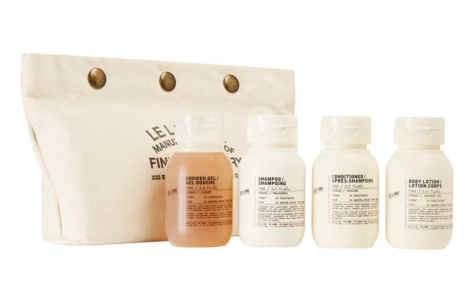 Le Labo Hair & Body travel set