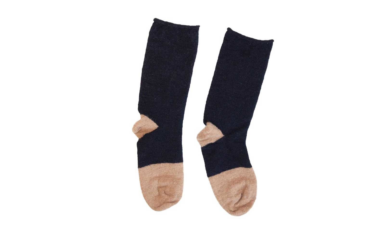 No.6 Mohair Trouser Socks