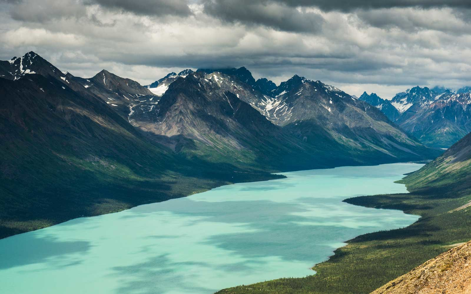 Lake Clark National Park and Preserve is located in southwest Alaska.