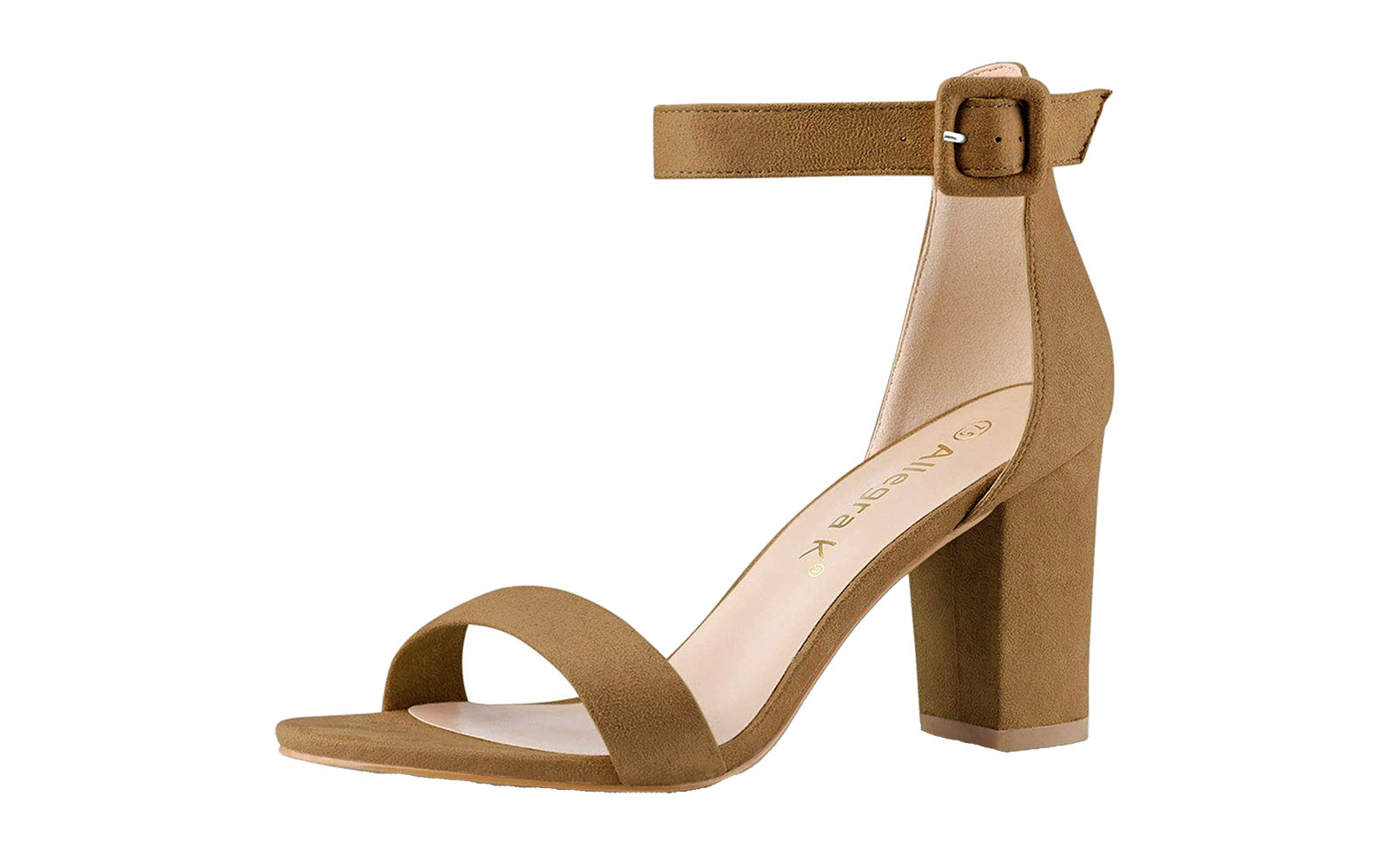 Most Comfortable Strappy Sandal: Allegra K Ankle Strap Sandal