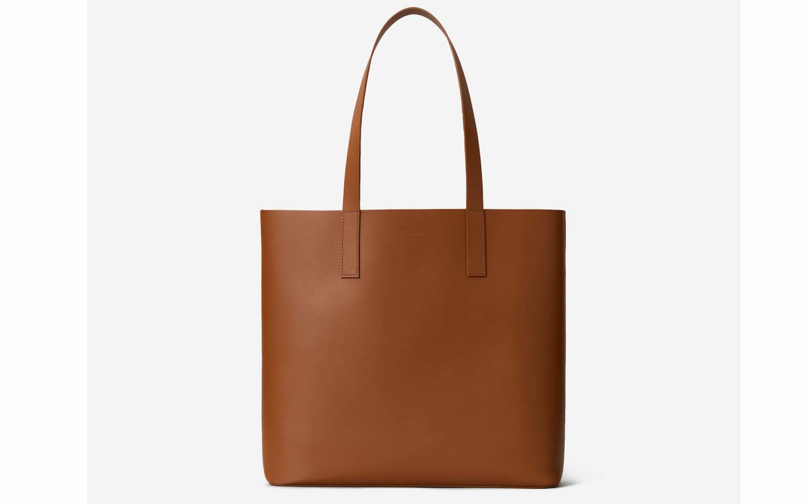 The Day Square Tote in Cognac