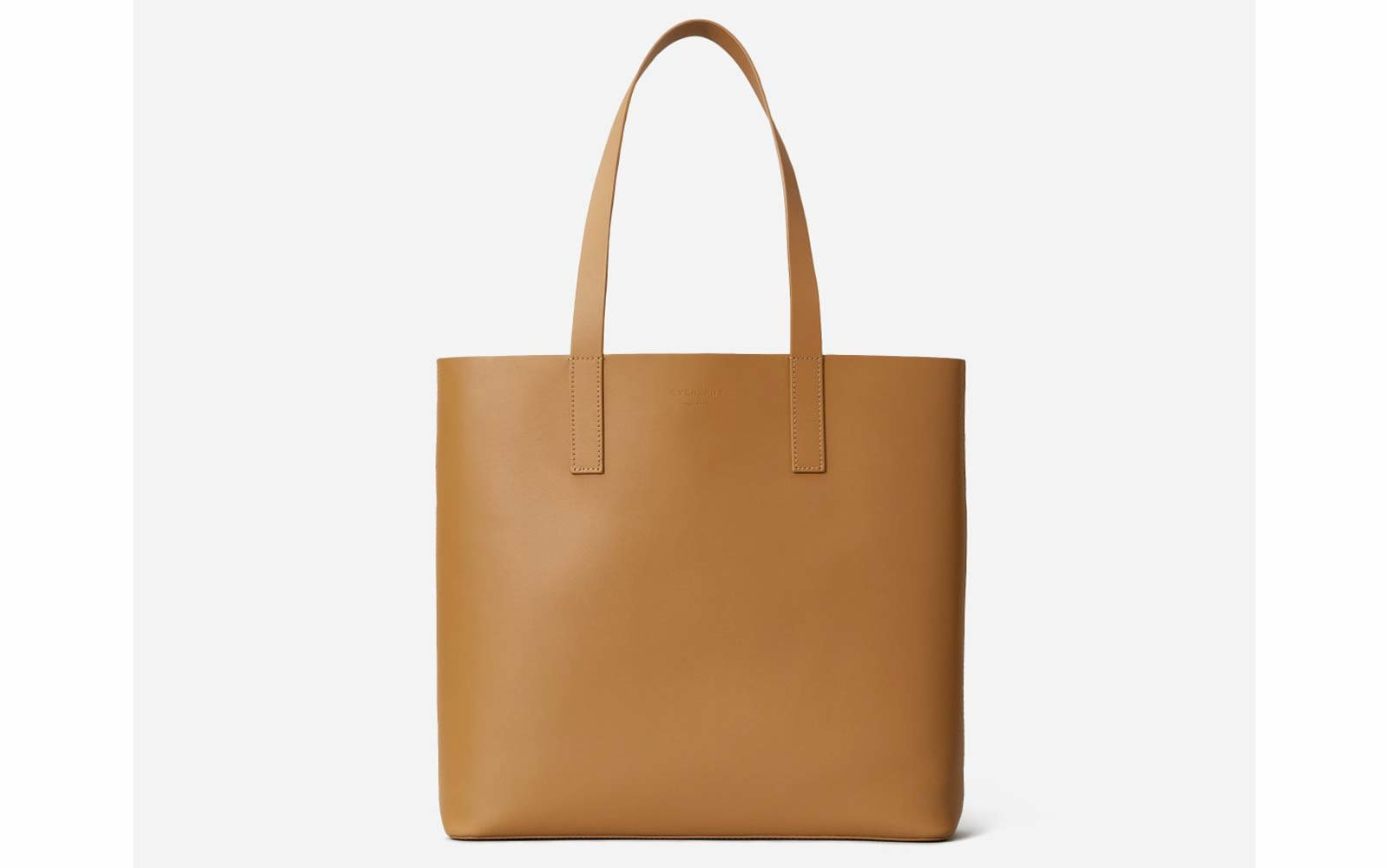 The Day Square Tote in Saddle