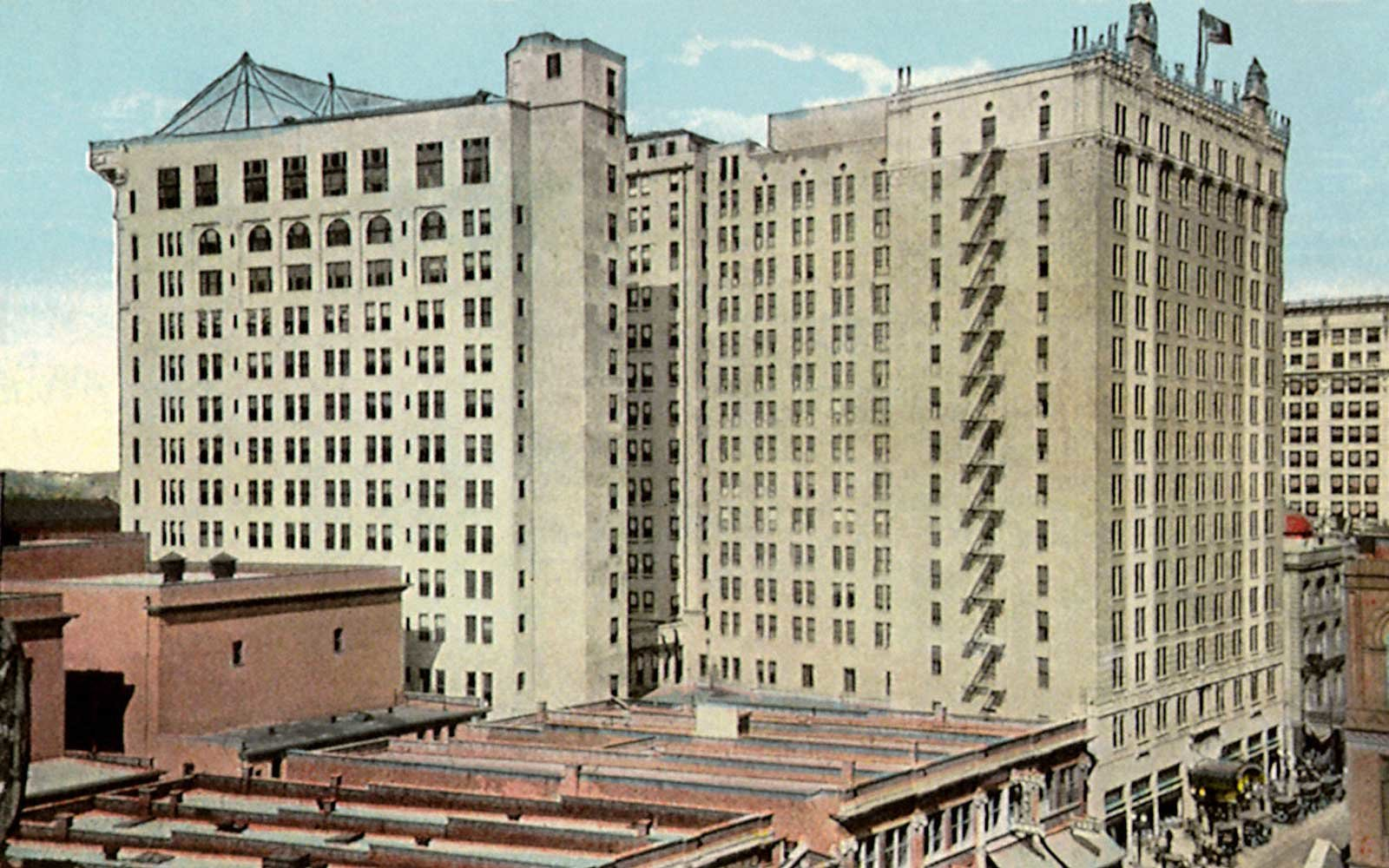 New Roosevelt Hotel. New Orleans. 1925