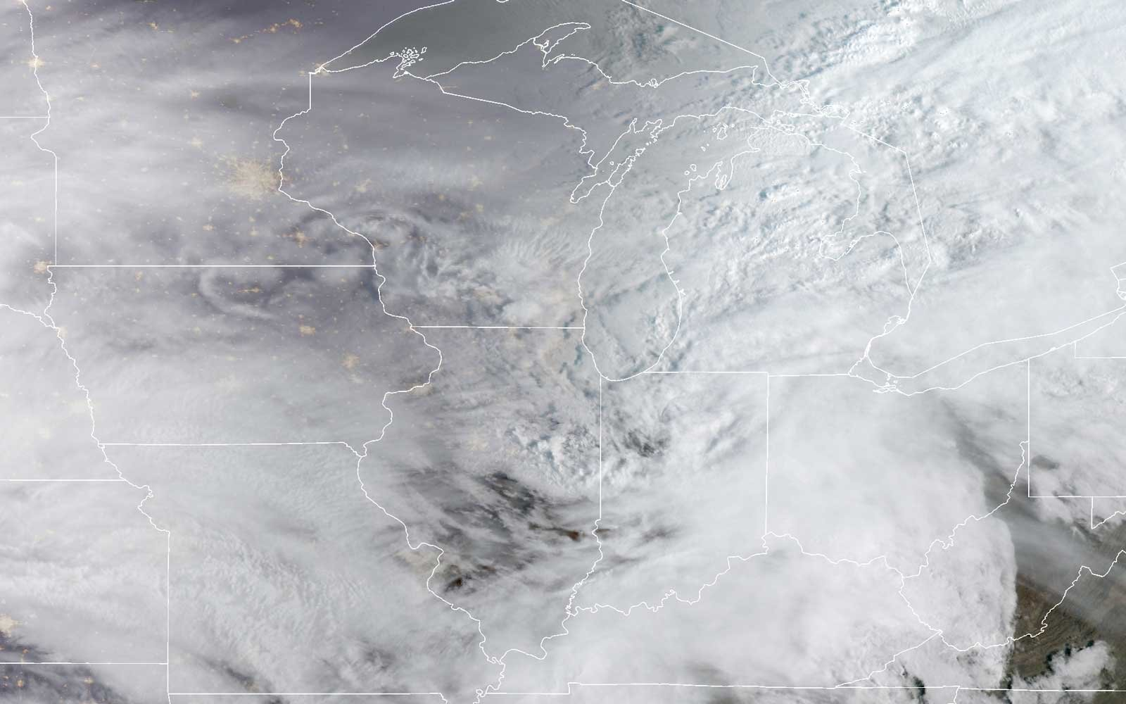 'Bomb Cyclone' brings snow, high winds to U.S. Plains states